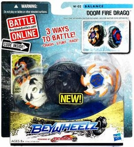 Beyblades Beywheelz Balance #W-02 Doom Fire Drago