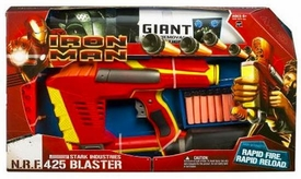 Iron Man Movie Toy N.R.F. 425 Blaster [Rapid Fire, Rapid Reload]