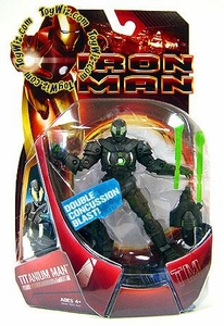 Iron Man Movie Action Figure Titanium Man