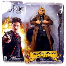 NECA Harry Potter and the Half Blood Prince 7 Inch Action Figure Mad Eye Moody