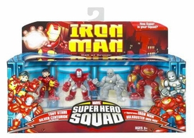 Iron Man Movie Toy Super Hero Squad Battle Pack Hall of Armor