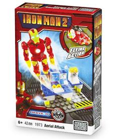 Iron Man 2 Mega Bloks Set #1973 Mark IV Aerial Attack