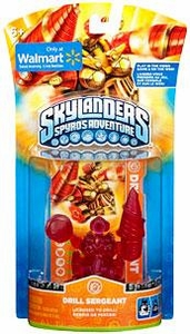 Skylanders Exclusive Figure Pack CLEAR RED Drill Sergeant [Limited Edition] BLOWOUT SALE!