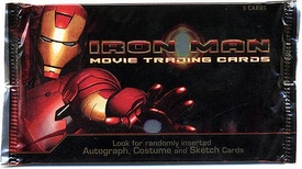 Rittenhouse Archives Iron Man Movie Trading Cards Pack