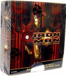 Rittenhouse Archives Iron Man Movie Trading Cards Box [24 Packs]