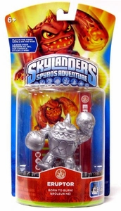 Skylanders Exclusive Figure Pack SILVER Eruptor [Limited Edition]