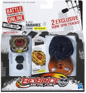 Beyblades Exclusive Metal Fury Defense 145WB Variares #B-151A