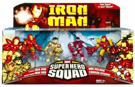 Iron Man Movie Toy Super Hero Squad Battle Pack Crimson Dynamo Attacks