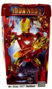 Iron Man 2 Mega Bloks Set #1977 Mark VI Techbot