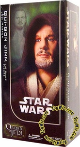 Sideshow Order of the Jedi Collectibles Star Wars 12 Inch Deluxe Action Figure Qui-Gon Jinn