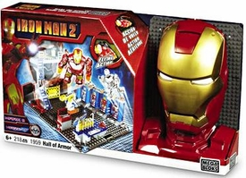 Iron Man 2 Mega Bloks Set #1959 Hall of Armor