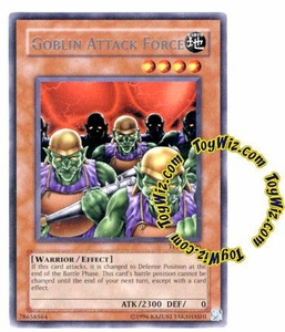 YuGiOh Tournament Pack 7 Single Card Rare TP7-EN006 Goblin Attack Force