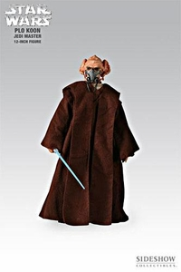 Sideshow Collectibles Order of the Jedi Star Wars 12 Inch Deluxe Action Figure Plo Koon