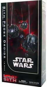 Sideshow Lords of the Sith Collectibles Star Wars 12 Inch Deluxe Action Figure Sith Probe Droid Expansion Pack
