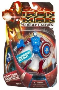 Iron Man Movie Action Figure Captain America Armor