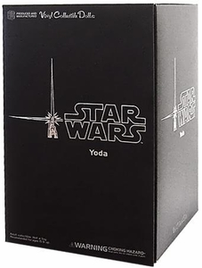 Sideshow Medicom Star Wars VCD Vinyl Collectible Doll Yoda