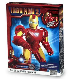 Iron Man 2 Mega Bloks Set #29546 Iron Man Mark VI