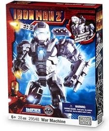 Iron Man 2 Mega Bloks Set #29548 War Machine
