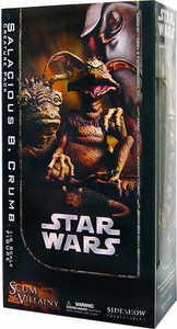 Sideshow Scum & Villainy Collectibles Star Wars Deluxe Action Figure Salacious B. Crumb Creature Pack