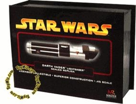 Star Wars Master Replicas .45 Scaled Replica Episode III Revenge of the Sith Darth Vader Lightsaber