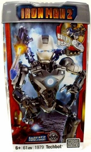 Iron Man 2 Mega Bloks Set #1979 War Machine Techbot Damaged Package, Mint Contents!