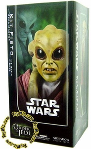 Sideshow Order of the Jedi Collectibles Star Wars 12 Inch Deluxe Action Figure Kit Fisto
