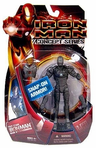 Iron Man Movie Action Figure Tony Stark Iron Man Mark II Quick Change