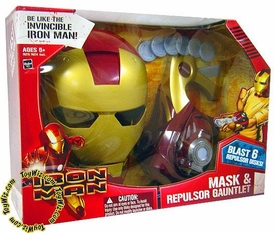 Iron Man Movie Roleplay Toy Iron Man Mask & Repulsor Gauntlet
