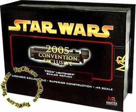 Star Wars Master Replicas .45 Scaled Replica Episode III Revenge of the Sith Yoda Lightsaber Exclusive Version