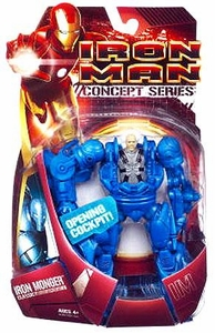 Iron Man Movie Concept Series Action Figure Classic Iron Monger