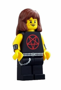 Citizen Brick Exclusive Minifigure Heavy Metal Enthusiast