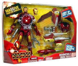 Iron Man Movie Deluxe 12 Inch Action Figure Boxed Set Invincible Iron Man