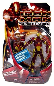 Iron Man Movie Action Figure Concept Series Inferno Armor Iron Man