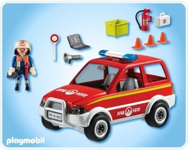 Playmobil Rescue Set #4822 Fire Chief & Car