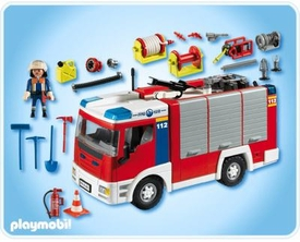Playmobil Rescue Set #4821 Fire Engine