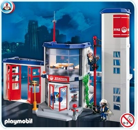 Playmobil Rescue Set #4819 Fire Station