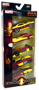 Iron Man Movie Toy Exclusive Diecast Car Collection 5-Pack