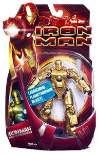 Iron Man Movie Action Figure GOLD Mark 1 Iron Man
