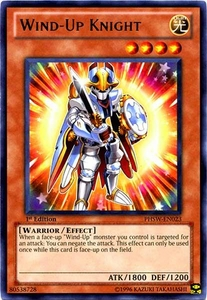 YuGiOh Zexal Photon Shockwave Single Card Rare PHSW-EN023 Wind-Up Knight