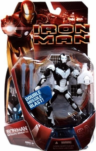 Iron Man Movie Action Figure Satellite Armor Iron Man  [White Armor Variant with White Launcher!]