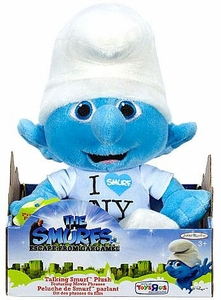 The Smurfs Movie Jakks Pacific Exclusive Talking Plush Clumsy [I <3 NY]