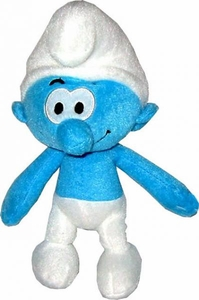 The Smurfs Movie 9 Inch Plush Clumsy