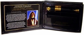 Star Wars Master Replicas .45 Scaled Replica Episode IV A New Hope Obi-Wan Kenobi Lightsaber Gold Variant