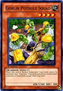 YuGiOh Zexal Photon Shockwave Single Card Common PHSW-EN035 Goblin Pothole Squad