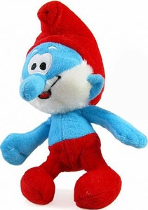 The Smurfs Movie 8 Inch Plush Papa Smurf