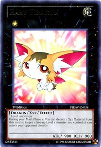YuGiOh Zexal Photon Shockwave Single Card Rare PHSW-EN038 Baby Tiragon