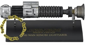 Star Wars Master Replicas .45 Scaled Replica Episode IV A New Hope Obi-Wan Kenobi Weathered Lightsaber