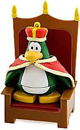 Disney Club Penguin 2 Inch Mini Figure King