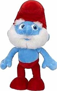 The Smurfs Movie Jakks Pacific 10 Inch Plush Papa Smurf