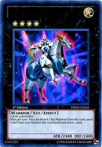 YuGiOh Zexal Photon Shockwave Single Card Ultra Rare PHSW-EN041 Number 10: Illumiknight